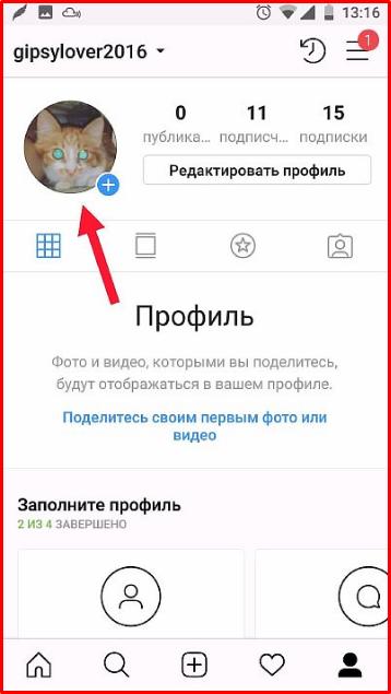 фото инстграм профиля