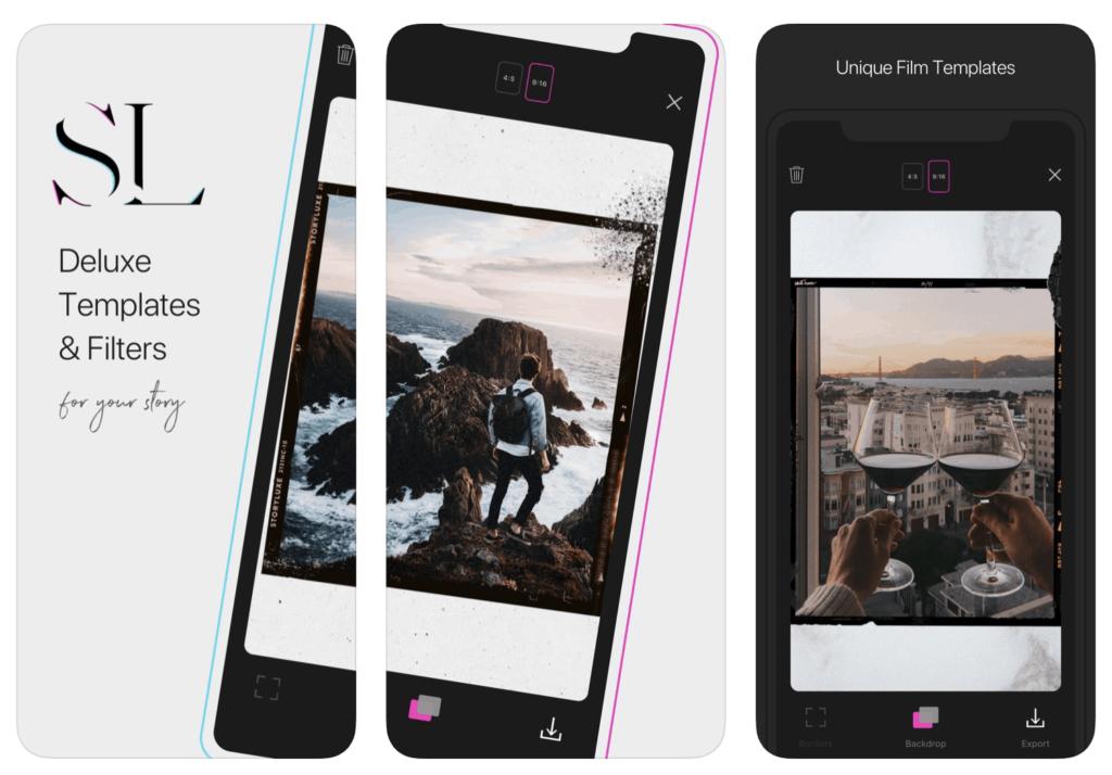 Story Luxe приложение