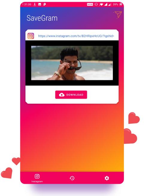 скачать фото из инстаграм Savegram