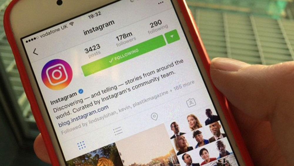 Поиск блоггеров в инстаграме