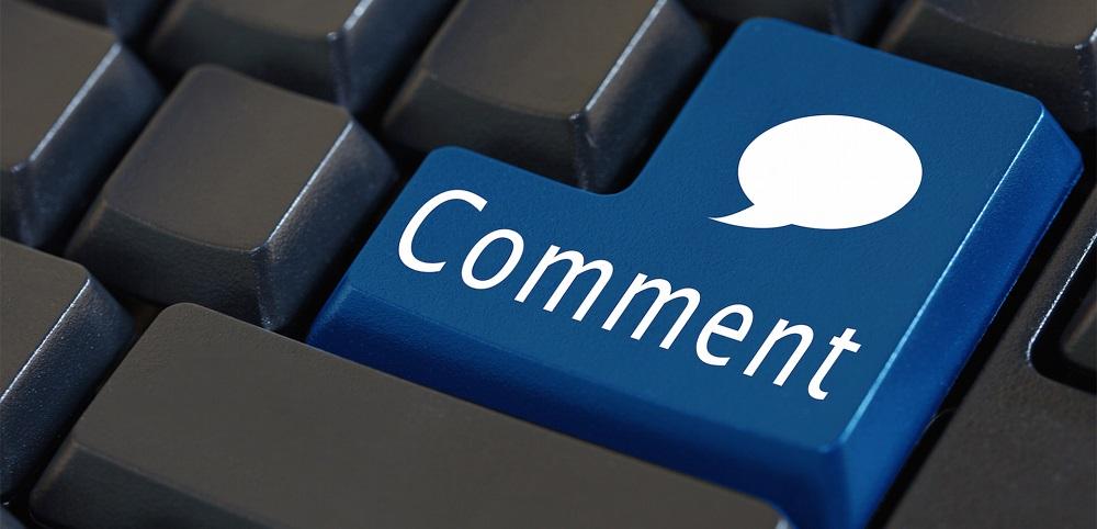 Просмотр и ответы на комментарии